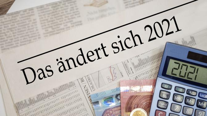 Grundrente, CO2-Steuer, Soli: Was sich 2021 für ...