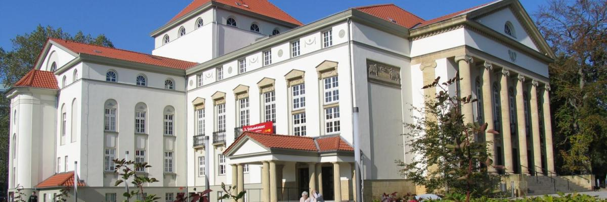 Das Theater in Nordhausen.